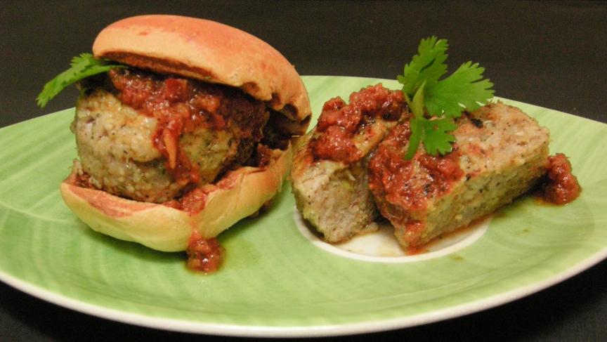 Dirk Fucik's Asian Carp burgers