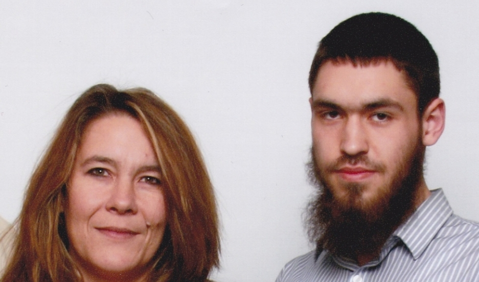 Christianne Boudreau and her son Damian Clairmont who died fighting for an extremist group in Syria.