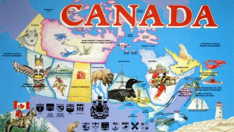 Cultural Map Canada Happy Canada Day, Eh | The World from PRX