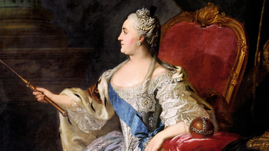 Catherine the Great of Russia, by Fyodor Rokotov