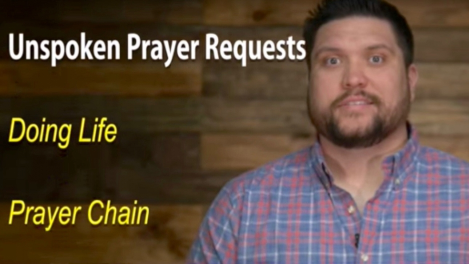 Screenshot from a parody video made by Christian singer Micah Tyler.