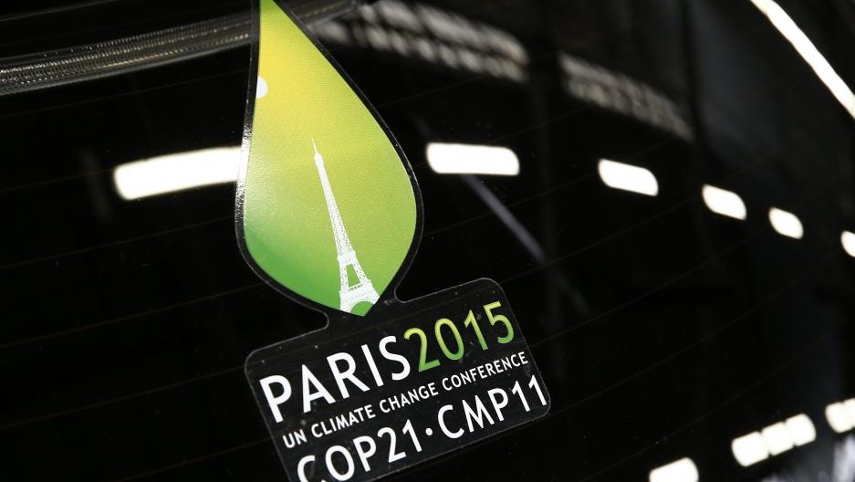Paris climate change summit logo
