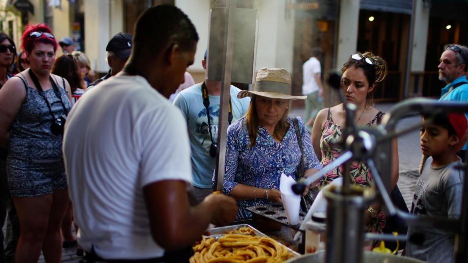 Cuba tourists