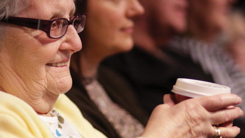 Dementia friendly film screenings allow people with dementia and their carers to enjoy an ordinary visit to the cinema.
