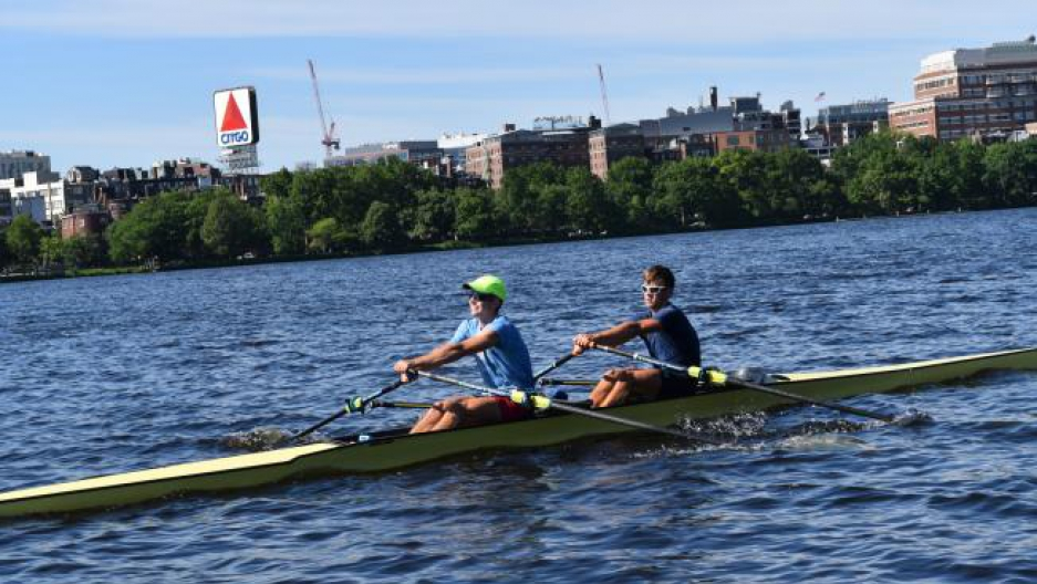 Charles River Olympics training