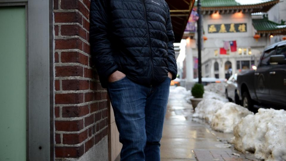 A former sex buyer, now in recovery, revisits Boston's Chinatown where he sometimes frequented erotic massage parlors. He says such establishments are all over the state.