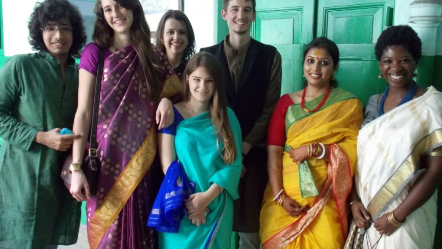 an american teacher in india enjoys the traditions of a