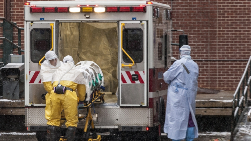 Ebola evacuation