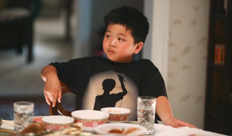 Meet the Huang family. The new TV series Fresh Off The Boat #FreshOffTheBoat features 12-year old Eddie Huang.