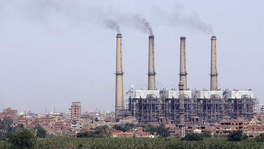 Shoubra El-Kheima Power Station, belonging to the North Cairo Electricity Distribution Company, is pictured in Cairo, April 19, 2014. Egypt needs to find at least $5 billion to invest in its dilapidated power grid, a government official told Reuters.