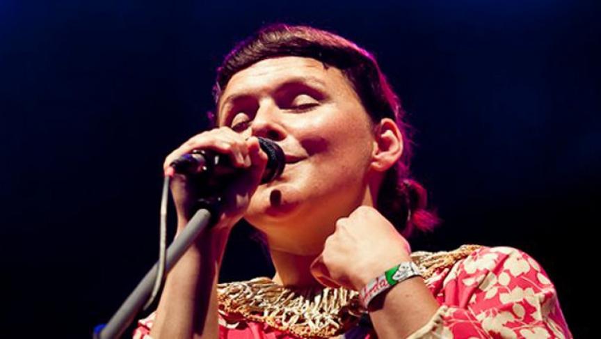 Icelandic singer Emiliana Torrini.