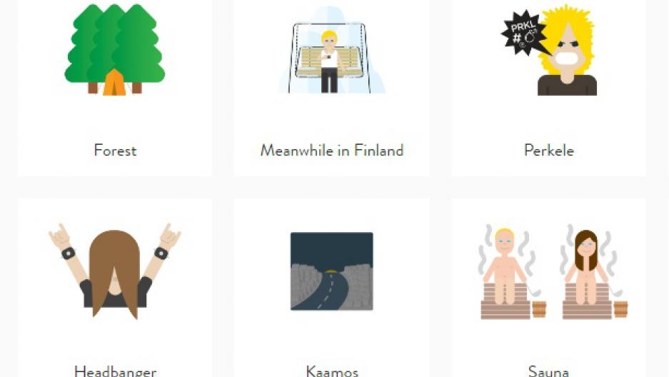 Finland Expresses Its Unique Nordic Culture In Emojis
