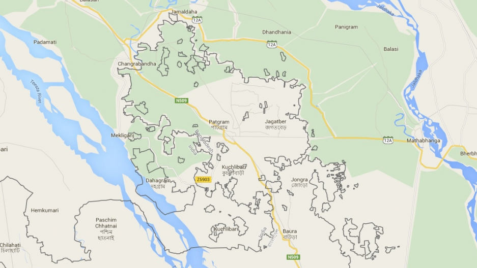 India and Bangladesh exchange hundreds of border enclaves and