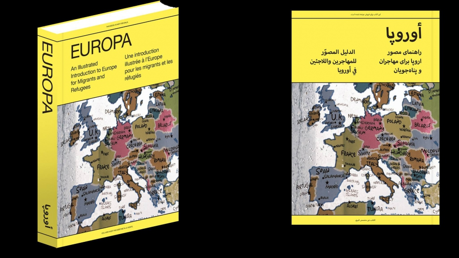 """Europa, An Illustrated Introduction to Europe for Migrants and Refugees"""
