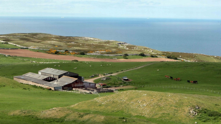 Britain's National Trust will rent out its Parc Farm on the Great Orme to a young farmer.