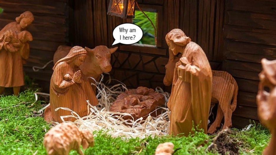 Animals are commonly found in nativity scenes, but surprisingly not in the Bible.