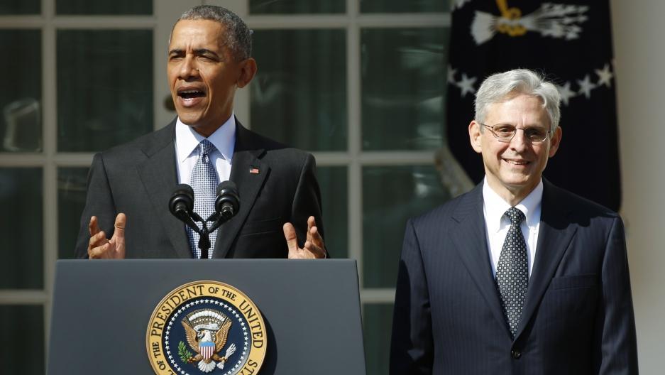 President Barack Obama and Judge Merrick Garland