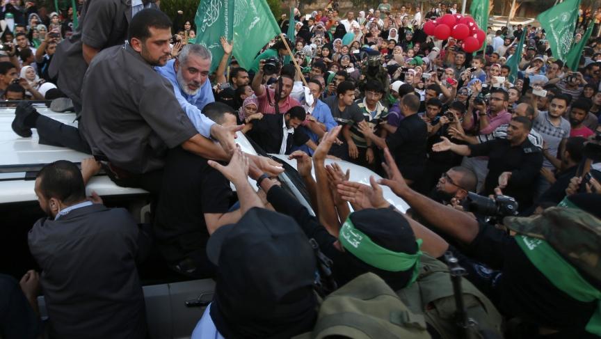 Hamas Gaza leader Ismail Haniyeh