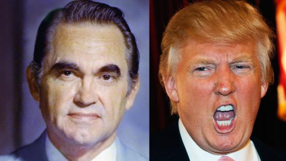 George Wallace Donald Trump