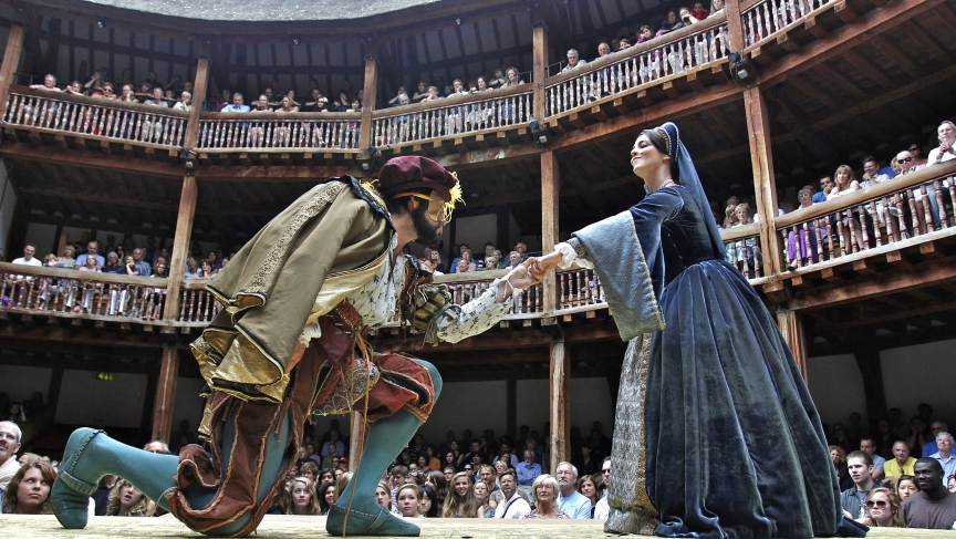 the masks of characters in shakespeares play hamlet A short introduction to the shakespeare play hamlet,  five fascinating facts about hamlet  hamlet becomes a more complex and interesting character than he had .
