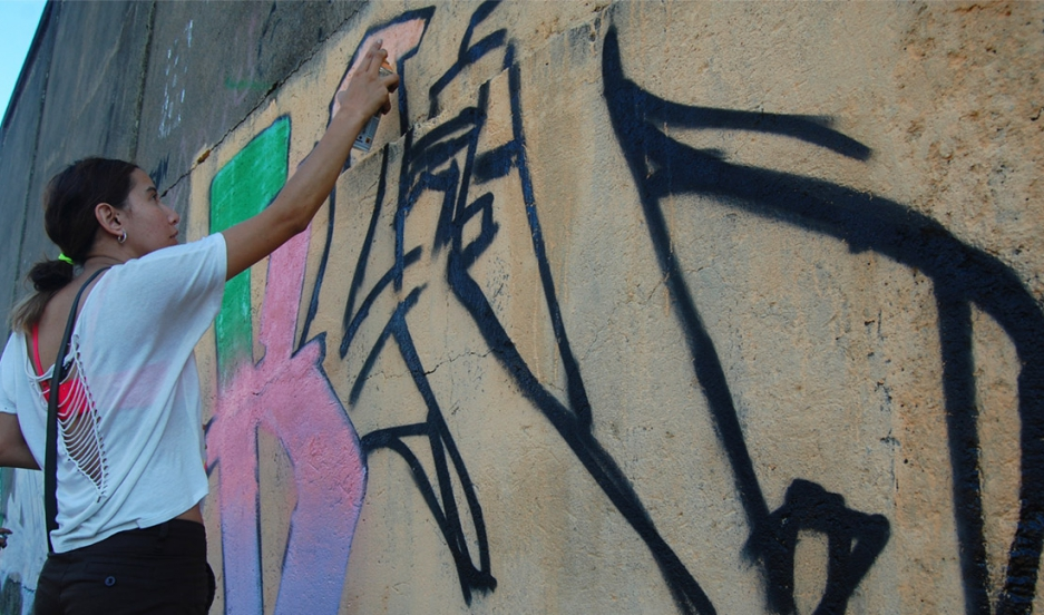 Graffiti lead photo