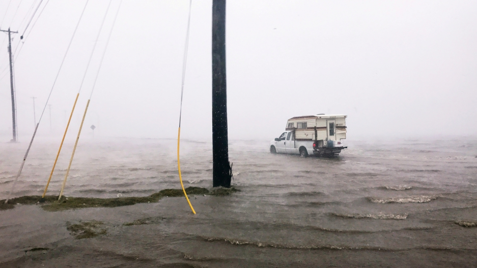 "Craig ""Cajun"" Uggen, 57, nearly floods his truck"