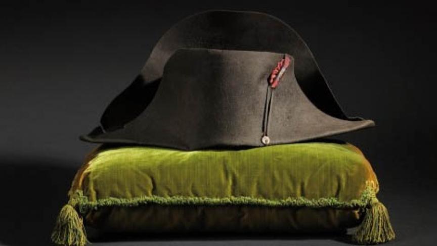 Legendary hat of the Emperor Napoleon I.