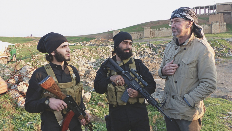 Few individuals have gotten close enough to the self-proclaimed Islamic State. Jurgen Todenhofer is one of them. He embedded with ISIS for 10 days in December of 2014.