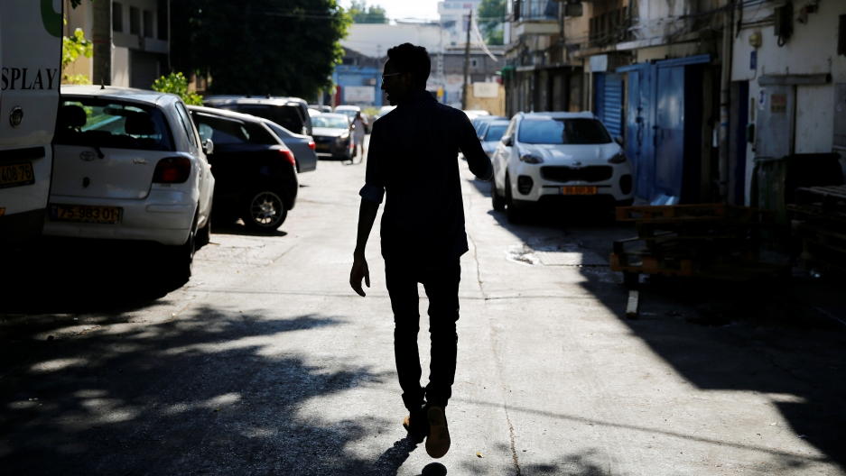 Teklit Michael, 29, an asylum seeker from Eritrea