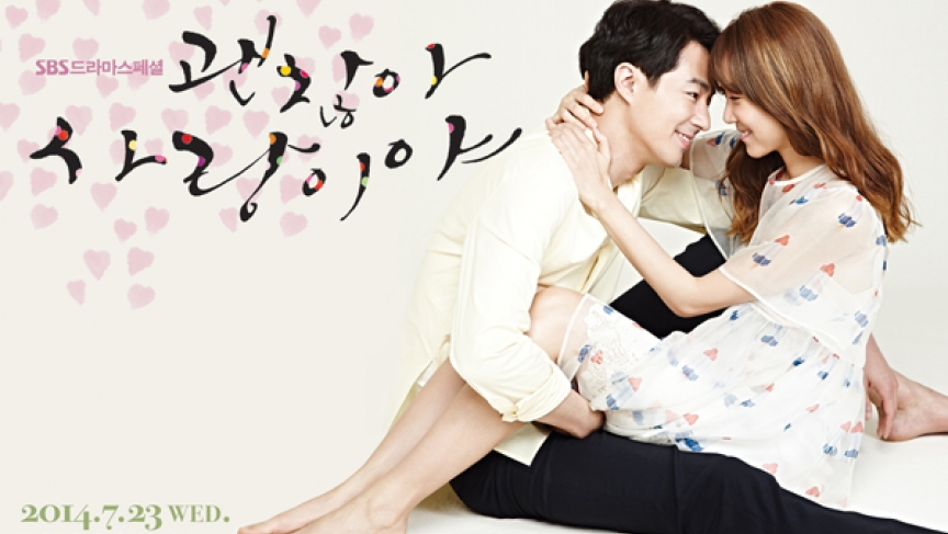 "An advertisement for ""It's OK, That's Love,"" a Korean TV show that aired this summer and became one of the country's few public forums discussing mental health."