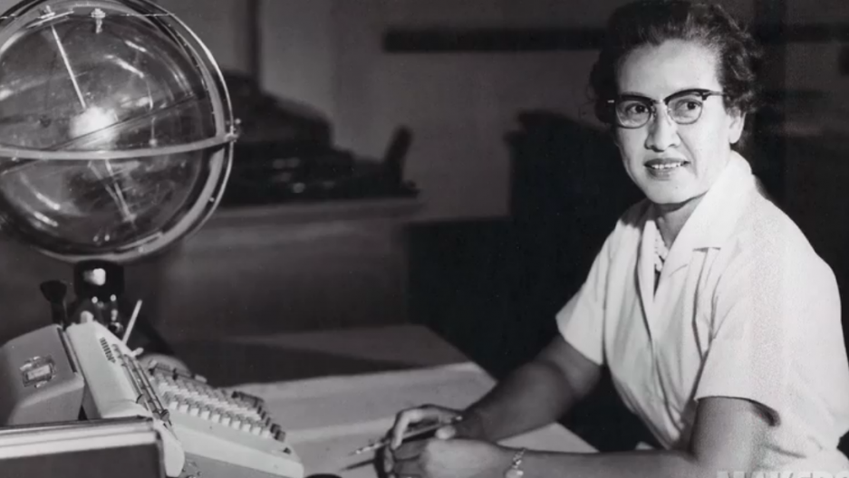 NASA research mathematician Katherine Johnson