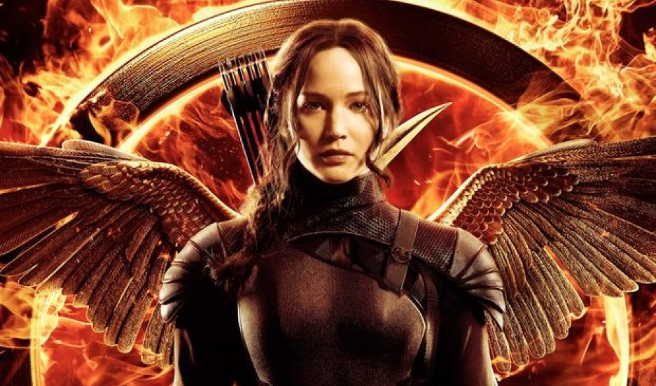 """Promotional image for """"The Hunger Games'' series"""