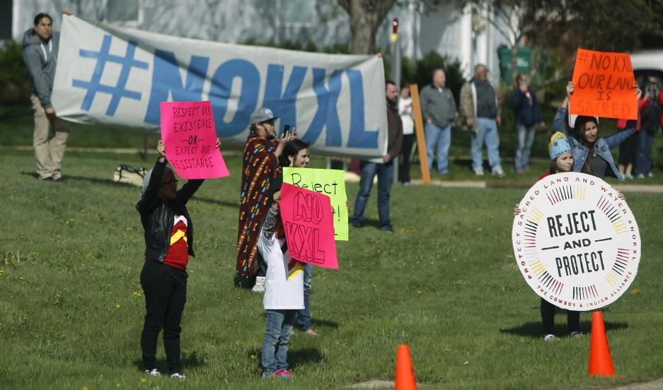 Keystone XL protests
