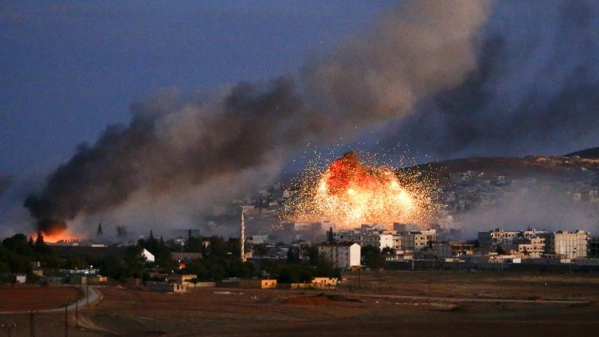 The fight in Kobane
