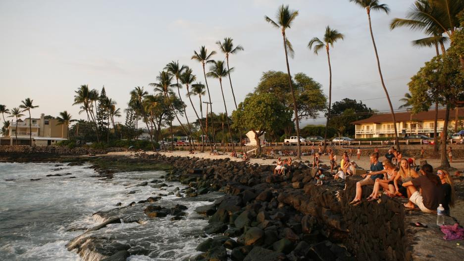 White Sands Beach Park in Kailua-Kona