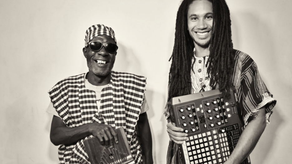 Sorie Kondi and DJ Chief Boima of Kondi Band