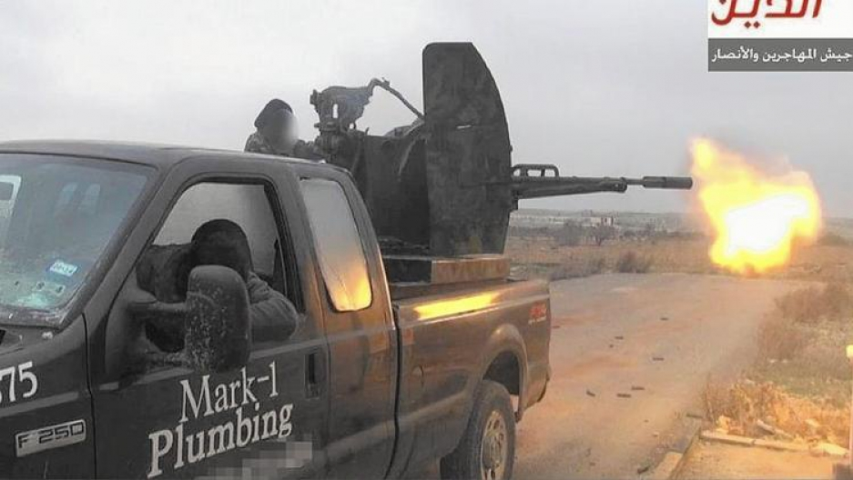 How a Texas plumber's truck wound up in ISIS' hands ...