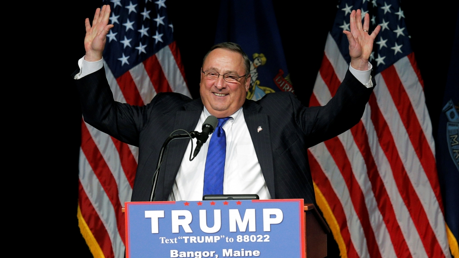 Maine Governor Paul LePage is considering resigning