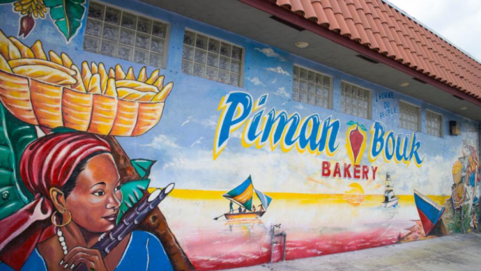 Little Haiti in Miami\'s Wynwood Arts District, street art isn\'t just ...