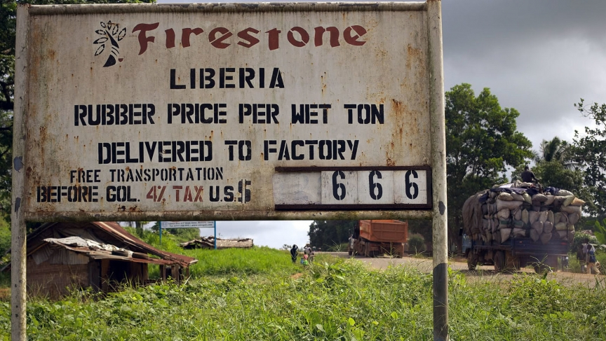 Firestone has operated a rubber plantation in Liberia since 1926.