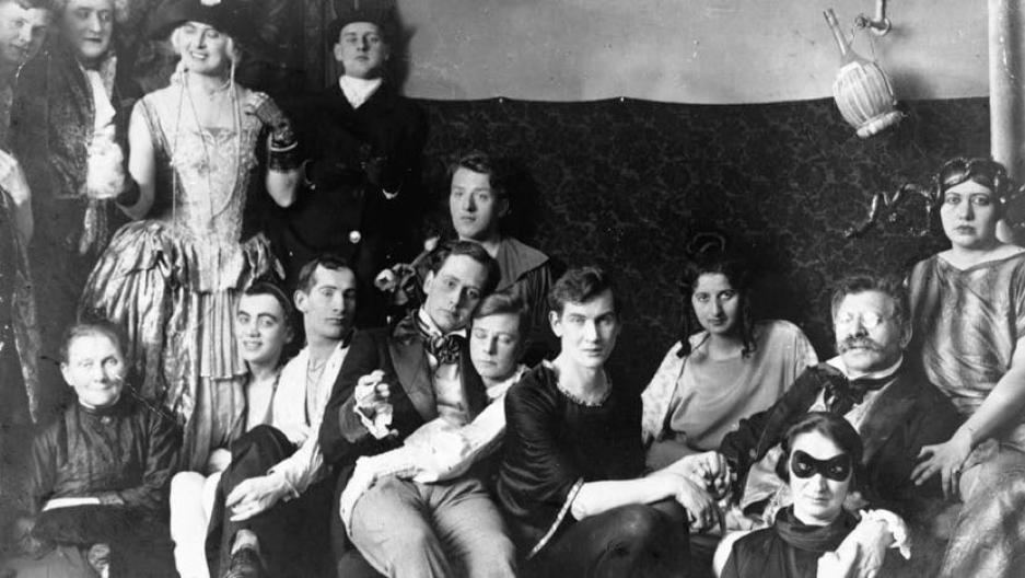 Magnus Hirschfeld in a group shot