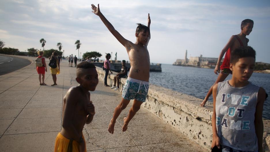 Cuban teen gets paid
