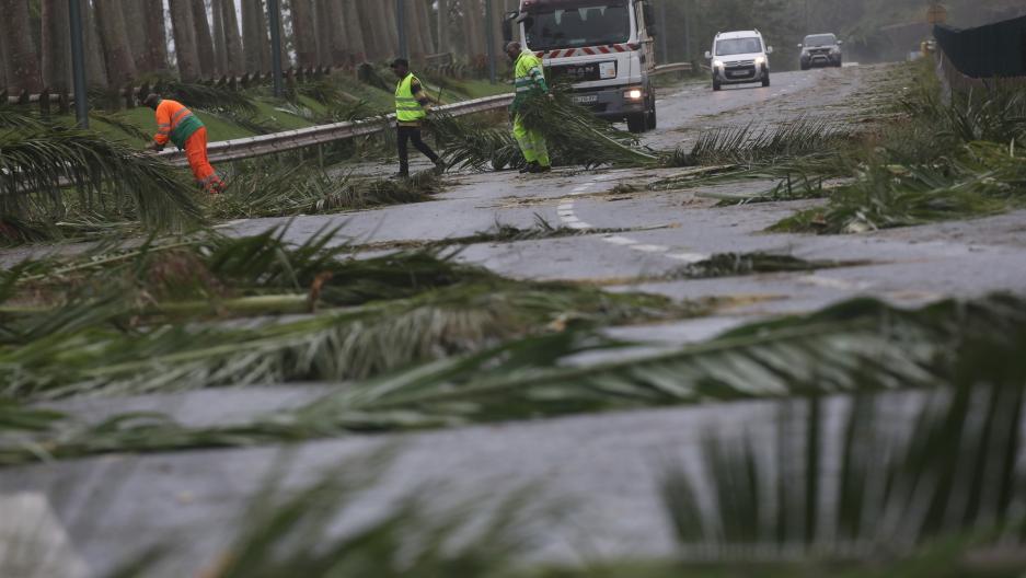 Maria hits Puerto Rica