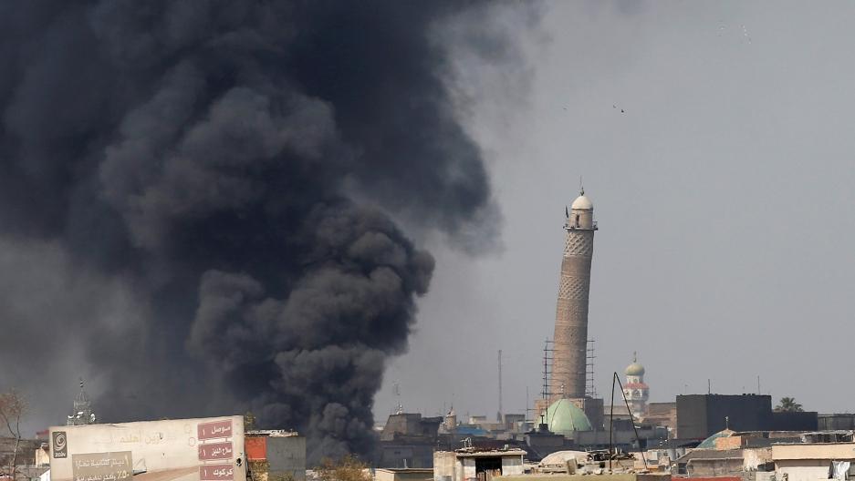 Mosul minaret