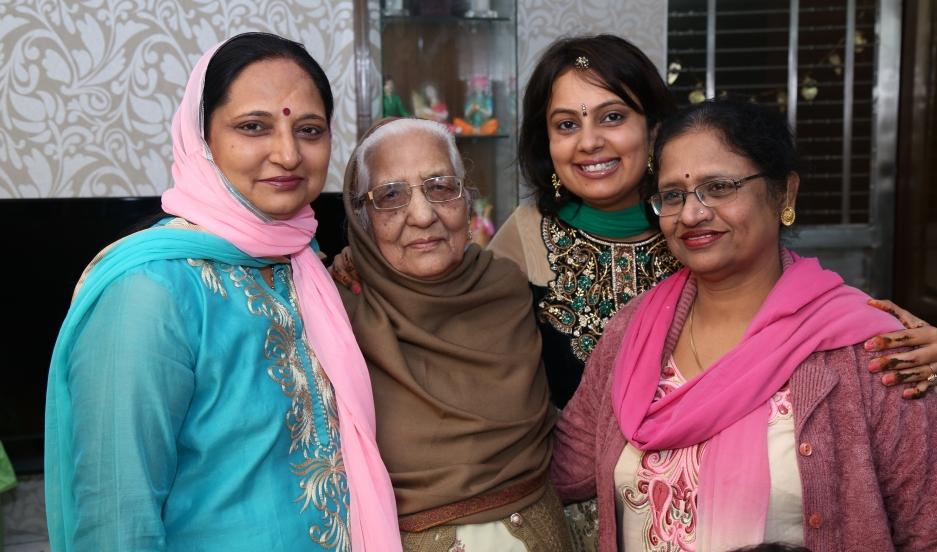 Neha Mahajan and Mom