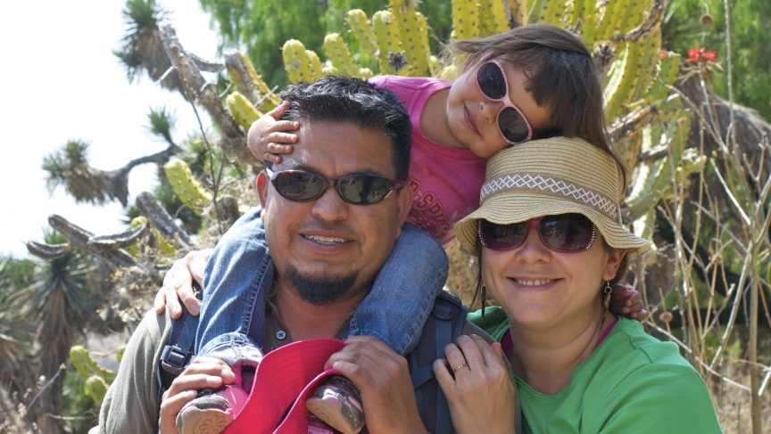 American citizen Nicole Salgado, husband Margo Reséndiz, and their 3-year old daughter, are seven years into a 10-year exile from the US, living in the Mexican state of Querétaro.