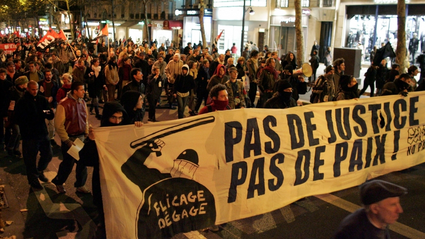 the events in ferguson bring back memories of the 2005 riots in paris