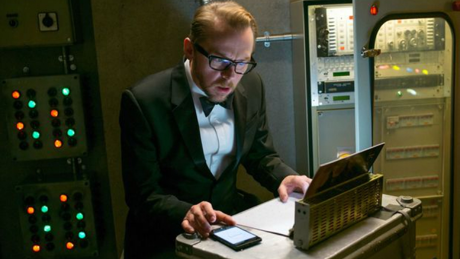Simon Pegg in the latest Mission Impossible film