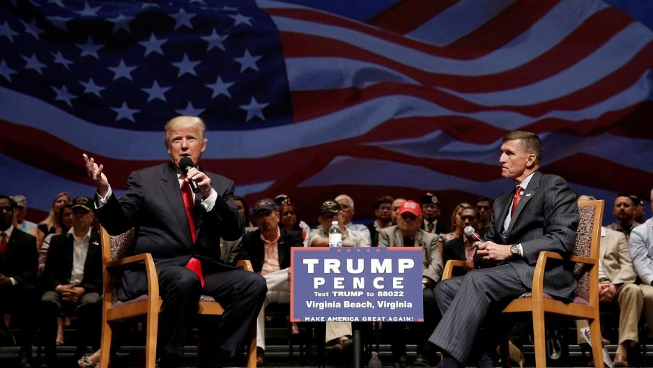 Republican presidential nominee Donald Trump