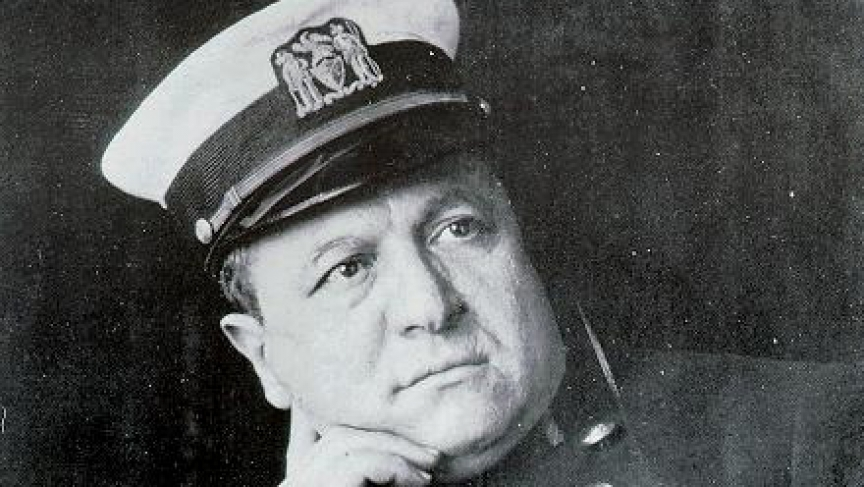 New York police detective Joseph Petrosino.  He was gunned down while in Sicily investigating a mafia connection to New York.